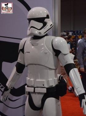 Storm Trooper Photo Opp on the exhibit floor.