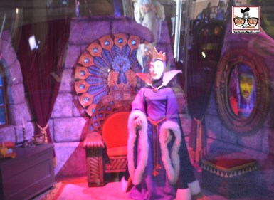 One of the many displays in the Archives exhibit - this was originally inside Sleeping Beauty's Castle