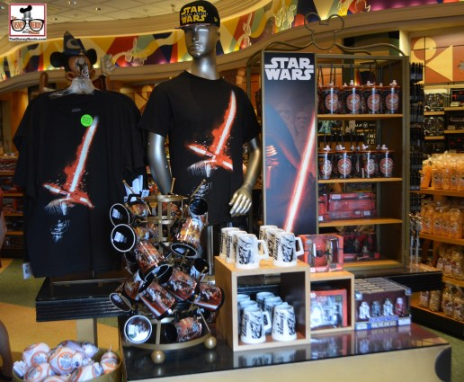 Star Wars has awaken retail all over Walt Disney World - This is front and center in mickey's of Hollywood