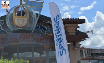 Downtown Disney is no more... Disney Springs is officially here - all maps and signs to DownTown Disney have been or will shortly be replaced..