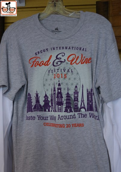 20th Anniversary Food and Wine Festival T-Shirts
