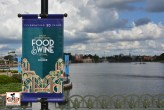 Epcot is set for Food and Wine - Celebrating 20 years.
