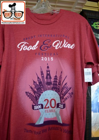 Food and Wine 2015 T-Shirts