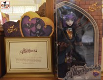 Attractionistas - new collectible line of fashion dolls, each celebrating a classic Disney attraction. This is Gracey from the Haunted Mansion