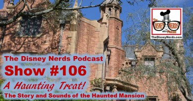 The Disney Nerds Podcast Show #106: A Haunting Treat