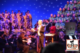 2015-12 - Epcot - The Candlelight Processional is a must see in the American Garden Theater - I Personal love watching the conductor