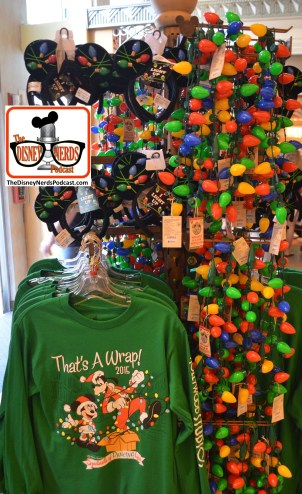 "2015-12 - Hollywood Studios - Osborne Lights - Special ""It's a Wrap"" merchandise"