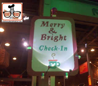 2015-12 - Hollywood Studios - Merry & Bright Holiday Lights Dessert Party Checkin