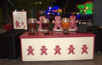 2015-12 - Hollywood Studios - Merry & Bright Holiday Lights Dessert offerings