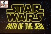 2015-12 - Hollywood Studios - Star Wars Path of the Jedi is in the ABC Sound Stage