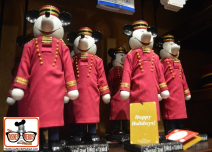 2015-12 - Hollywood Studios - Tower of Terror Nutcrackers in the gift shop - the only place I saw these