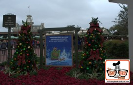 2015-12 - Magic Kingdom - Mickey's Very Merry Christmas Party in full swing