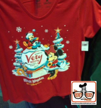 2015-12 - Magic Kingdom - Very Merry Christmas Party Merchandise