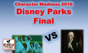 Character Madness Round 4 - Disney Parks Final