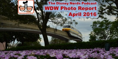 The Disney Nerds Podcast April 2016 Photo Report - Pictures taken in and around Walt Disney World the week of April 8th 2016