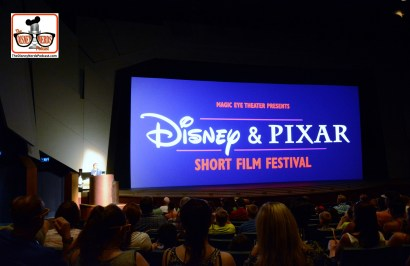 DNP April 2016 Photo Report: Epcot Magic Eye Theater Disney & Pixar Short Film Festival