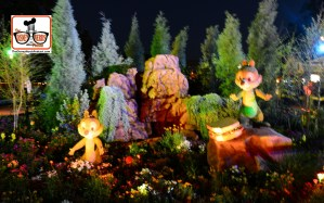 DNP April 2016 Photo Report: Epcot Flower and Garden Festival - Topiaries at night