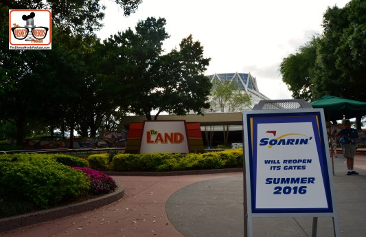 DNP April 2016 Photo Report: Epcot Soarin - Summer 2016..