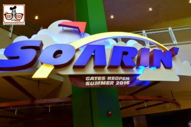 DNP April 2016 Photo Report: Soarin is a sad site.