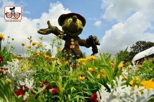 DNP April 2016 Photo Report: Epcot Flower and Garden Festival - Ranger Mickey a few from below