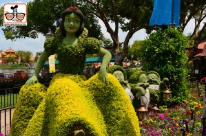 DNP April 2016 Photo Report: Epcot Flower and Garden Festival - Snow White