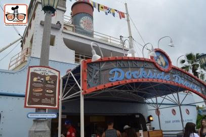 DNP April 2016 Photo Report: Hollywood Studios: Dockside Diner added some new menu options - Mac and Cheese with Pulled Pork - and of course a Kids meal in a Han Solo frozen bucket.