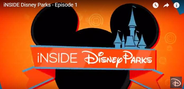 Inside Disney Parks Official News Cast