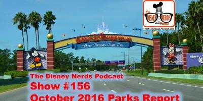 The Disney Nerds Podcast Show #156 - a Walt Disney World Adventure