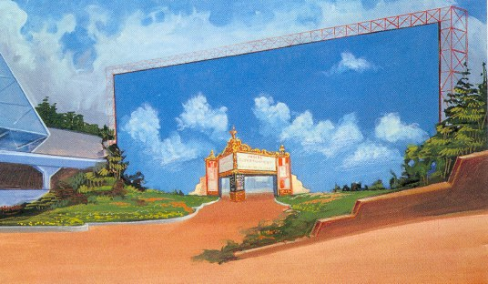 """The Disney Nerds Podcast - Concept Art from the """"Movies"""" Epcot pavilion... the one little Spark that lead to MGM Studios"""