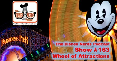 The Disney Nerds Podcast Show #163: Wheel of Attractions
