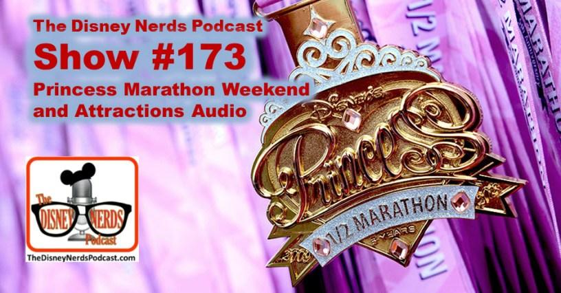 The Disney Nerds Podcast Show #173 - Princess Half and Park Audio