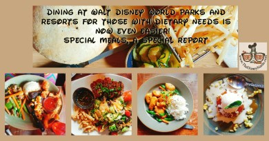 Dining at Walt Disney World Parks and Resorts with special dietary needs is now even easier! - The Disney Nerds Podcast www.thedisneynerds.com