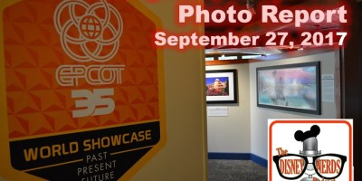 The Disney Nerds Podcast Epcot Legacy Showplace Photo Report September 27 2017