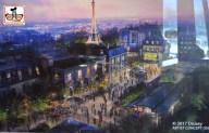 Epcot Legacy Showplace - Future World Future - France Concept Art