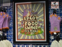 Epcot Food and Wine Festival 2017 Logo, School House Rock inspired?