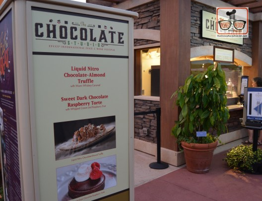 "Epcot Food and Wine Festival ""Chocolate Studio"" in Future World West"