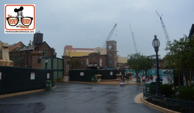 View of Muppet Courtyard from the Out Door seating of the Baseline Tap House