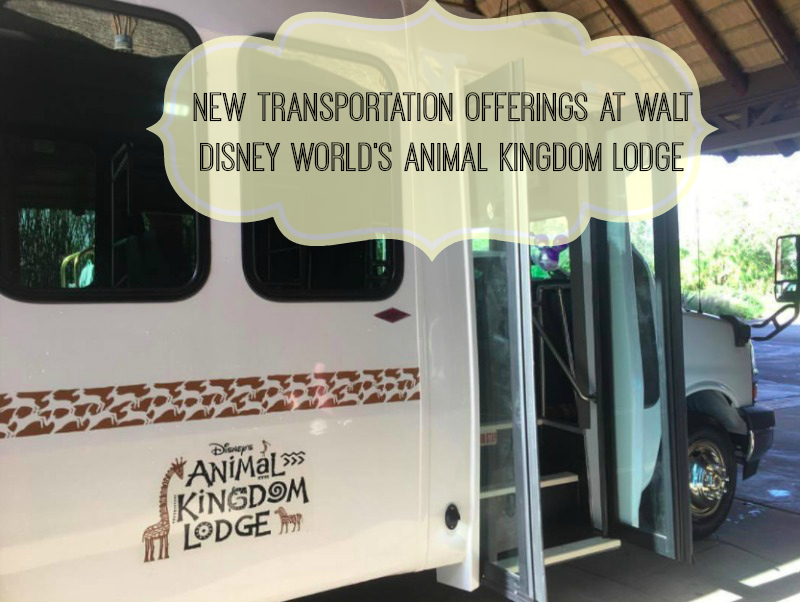 New Transportation offered at Walt Disney World's Animal Kingdom Lodge