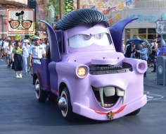 Mater in his Haul-o-ween costume