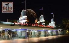 Disney California Adventure Halloween entrance