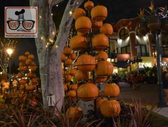 Pumpkins at Downtown Disney California 2017 Halloween
