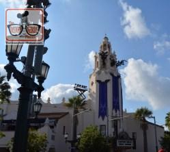 Disney California Adventure with Halloween Decorations.