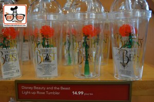 Beauty and the Beast Light-up Rose Tumblers in Stock!!!