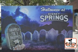 Lots of Photo Opportunities throughout Disney Springs for Halloween