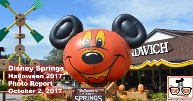The Disney Nerds Podcast - Halloween at Disney Springs Photo Report - October 2, 2017