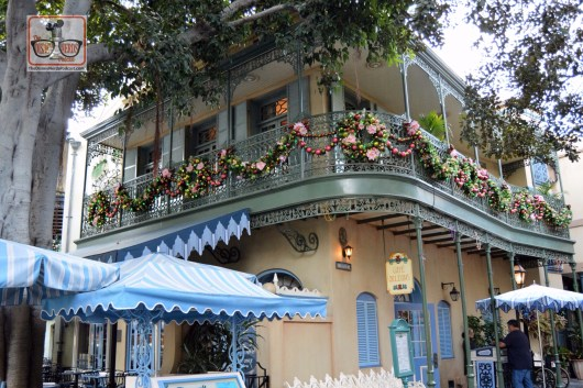 New Orleans Square with Christmas Merchandise
