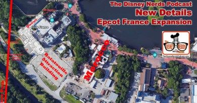 The Disney Nerds Podcast - New Details Epcot France Expansion