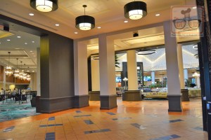 The New WDW Dolphin Lobby after the late 2017 remodel