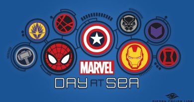 Marvel day at sea Disney Cruise Line