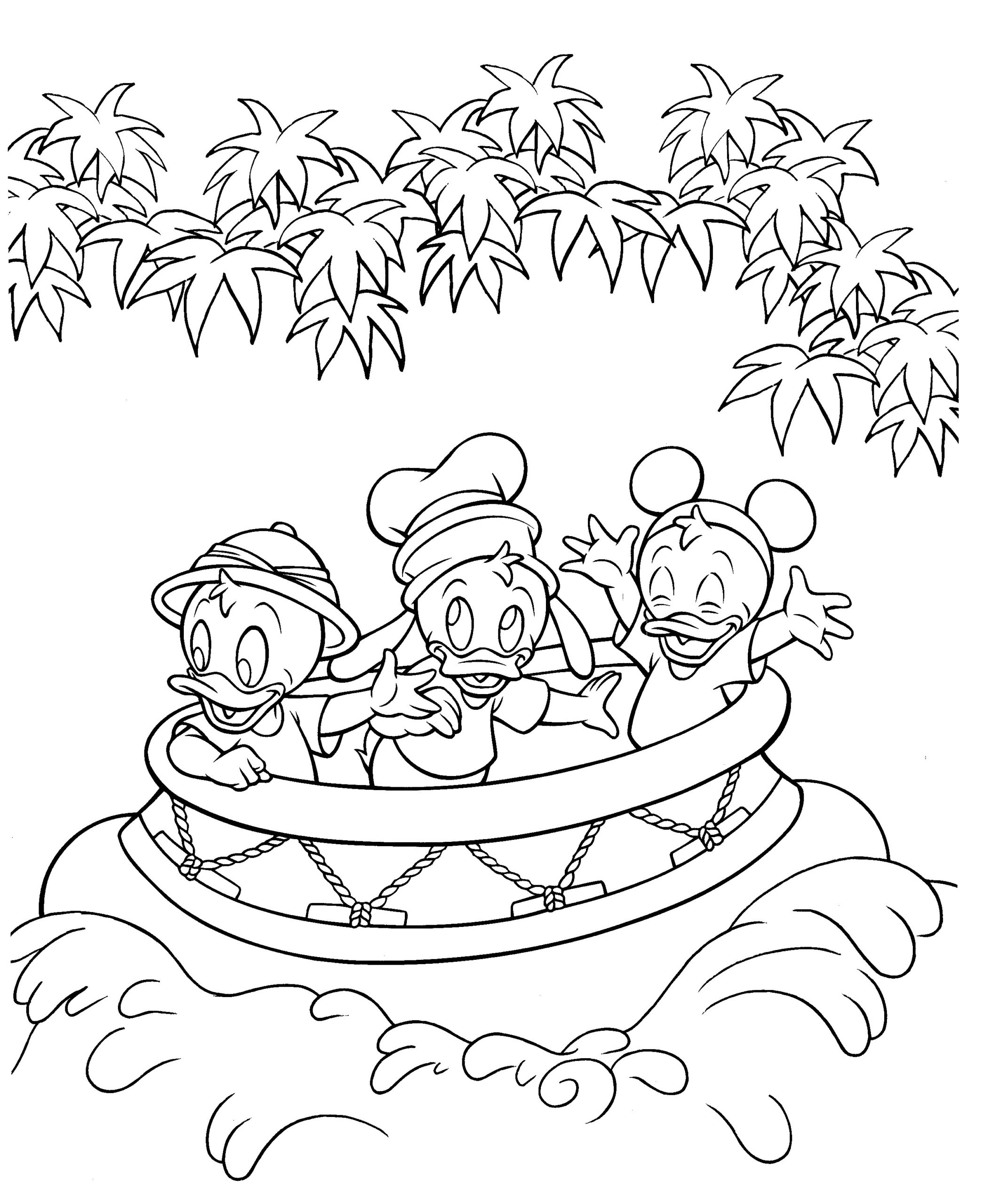 Disney World Coloring Pages